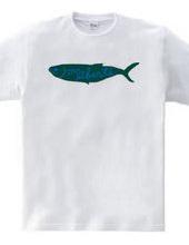 魚Tシャツ