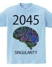 2045 SINGULARITY COLOR CEREBRUM