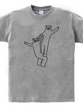 クマの組体操 #11