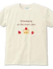 《フード01》*苺のショートケーキ*