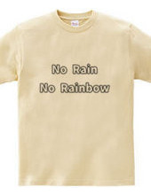 雨が降るから虹が出る