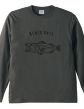 ブラックバス ゆるい魚イラスト 釣り #2