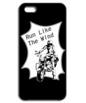 アメコミ風バイク&ライダー ブラック