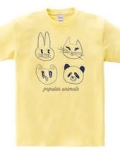 Popular animals