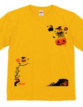 Flying Pumpkin オカメインコのハッピーハロウィン
