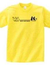 綱引き犬 キープディスタンス