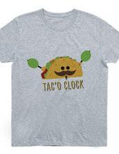 It is tac'o clock