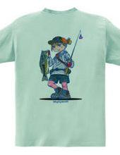 Fishing Girl (Backprint)