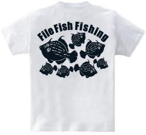 カワハギ釣り(バックプリント)