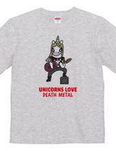 Unicorns love death metal