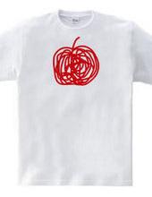 一筆書き林檎