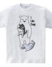 シロクマは犬が好き