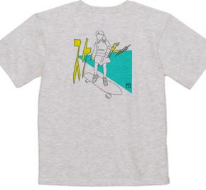 スケートガール(back print)