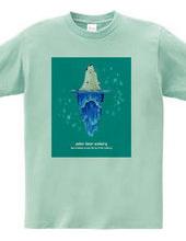 シロクマの氷山