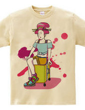 Travel Girl(Tshirt)
