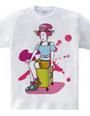 Travel Girl(Tshirt)