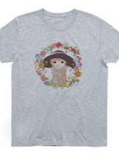 アルパカと帽子