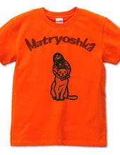 マトリョーシカ猫ロゴ