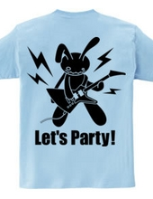 Let s party! (ブラックプリント)