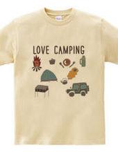 キャンプ大好き