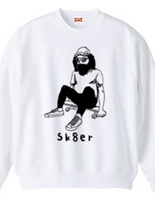ひげスケーター