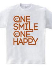 ONE SMILE ONE HAPPY