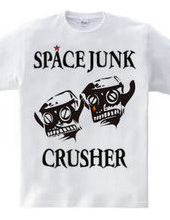 SPACE JUNK CRUSHER ロボットヘッド cry of anger