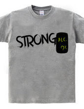 ストロングなレモン味の9%の危ないやつが大好きな人が着てそうなシャツ