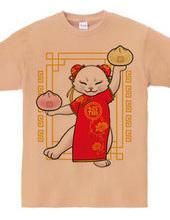 中華料理屋の看板猫