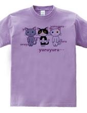 Trio the ゆる猫