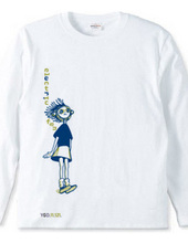 electric fan girl(2tone color)