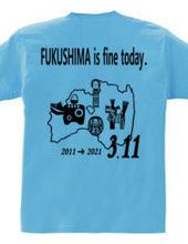 FUKUSHIMA 3.11(バックプリント)