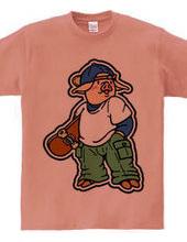 子豚とスケボー2