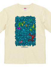 ありえな〜い けど ありえる〜 ウミのゴミ Tシャツ