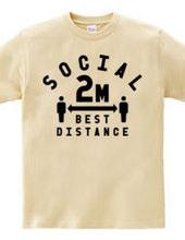 SOCIAL BEST DISTANCE