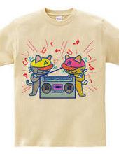 カセットテープTシャツ-2