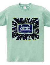 カセットテープTシャツ-1