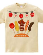 お祭り 串物 BEST5
