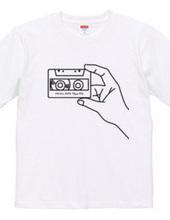 カセットテープTシャツ-3