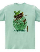 Climbing mint chocolate back