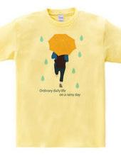 平凡な雨の日(イエローVr)