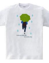 平凡な雨の日(グリーンVr)