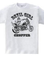 DEVIL GIRL CHOPPER BIKINI Version MONO