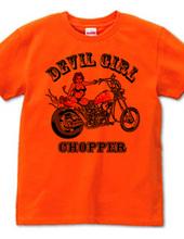 DEVIL GIRL CHOPPER BIKINI Version COLOR