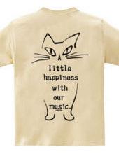 ラッキーキャッツTシャツ