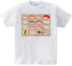 寿司ネタ16 盛り板