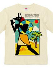 夏のアヌビス神 in the beach