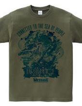 熱海市寄付支援Tシャツ「EARTH PEACE」