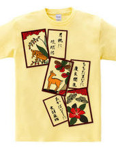 沖縄花札「猪鹿蝶」