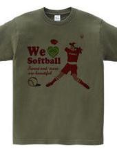 We love Softball